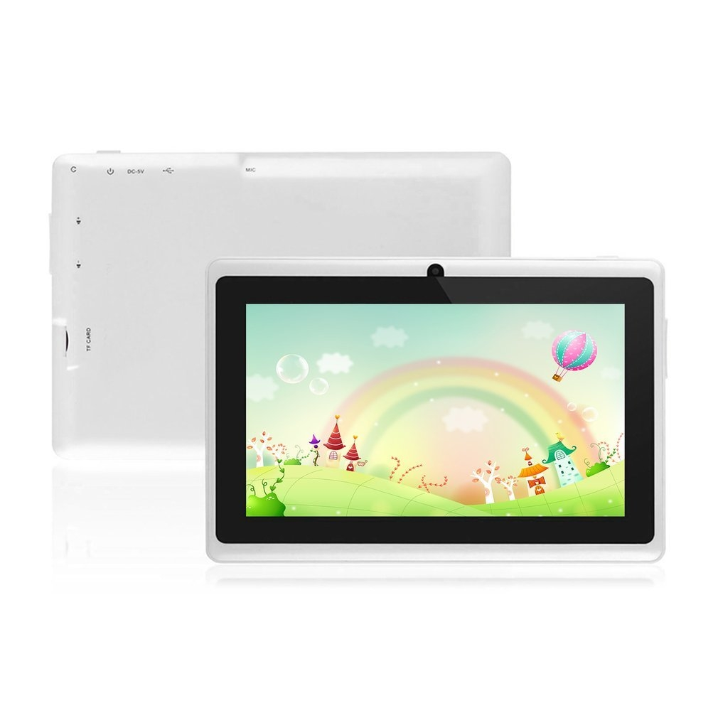 2f7da9e73c7650ee8b415c74affee565 Generic 7 Q88 A33 Quad Core 512MB/8GB Android Kids Tablet With HD Screen Dual Camera white