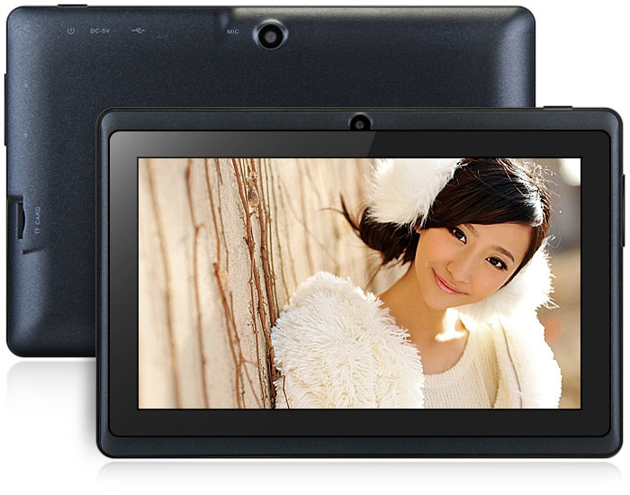 Generic Tablet PC 7 Inch Q88H A33 Quad Core 1.2GHz 512MB RAM 8GB ROM Dual Cameras BLACK price in nigeria