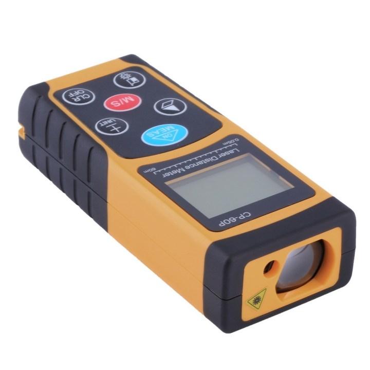 Generic Mini 60M Handheld Digital Laser Distance Meter Range Finder Diastimeter Orange&Black price in Nigeria