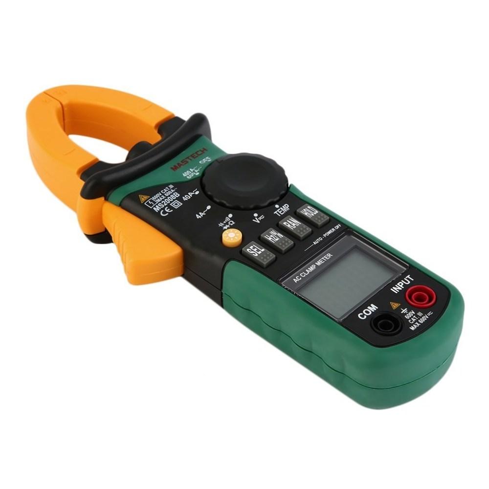 Generic AC/DC Digital Multimeter Electric Tester Current Clamp Meter Ammeter MS2008B Black&Green&Yellow price in Nigeria