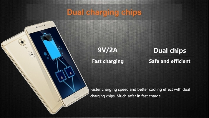 Gionee M6 on Jumia/dual charging chips
