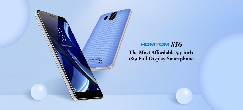 0ebeec7eba30a6c85cb977227c61f9ab Homtom S16   5.5 3G 2GB/16GB Android 7.0 3000mAh Fingerprint EU   White