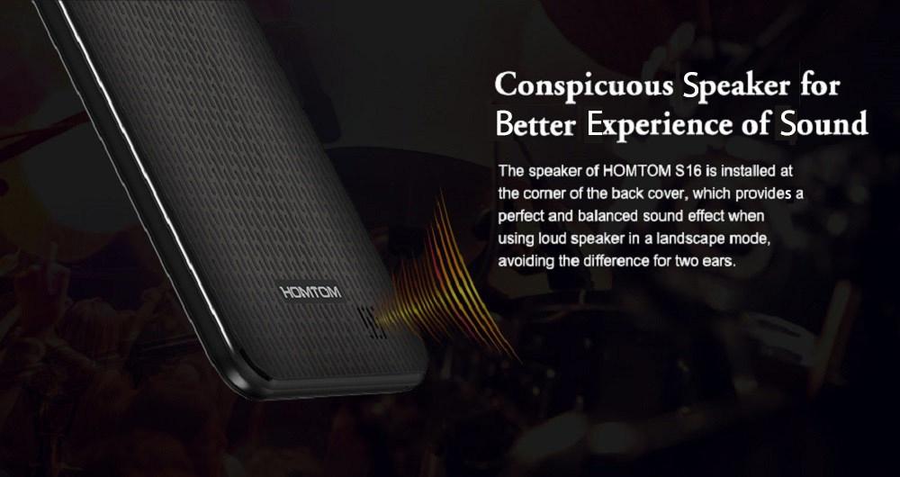 2be211b89c49b07391007d7bff5a56a9 Homtom S16 5.5 Inch HD (2GB,16GB ROM) Android 7.0 Nougat, (13.0MP + 2MP) + 8.0MP Dual SIM Smartphone   Black