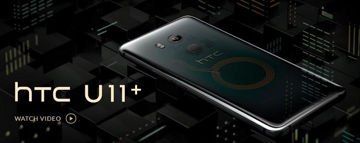 5e90cdfa858cc1421b535112405918b4 HTC U11 Plus (U11+) 6 Inch QHD (4GB,64GB ROM) Android 8.0 Oreo, 12MP + 8MP Dual SIM 4G Smartphone   Amazing Silver