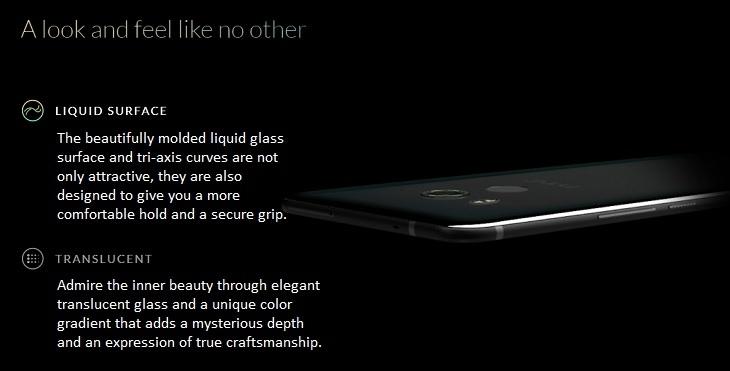 a32eb65d7ba39f37edcb2011ab0059cd HTC U11 Plus (U11+) 6 Inch QHD (4GB,64GB ROM) Android 8.0 Oreo, 12MP + 8MP Dual SIM 4G Smartphone   Amazing Silver
