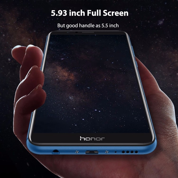 Huawei Honor 7X 4G Phablet 5.93 Inch Android 7.0 4GB RAM + 32GB ROM Dual Rear Cameras BLACK price on jumia Nigeria via specspricereview.com