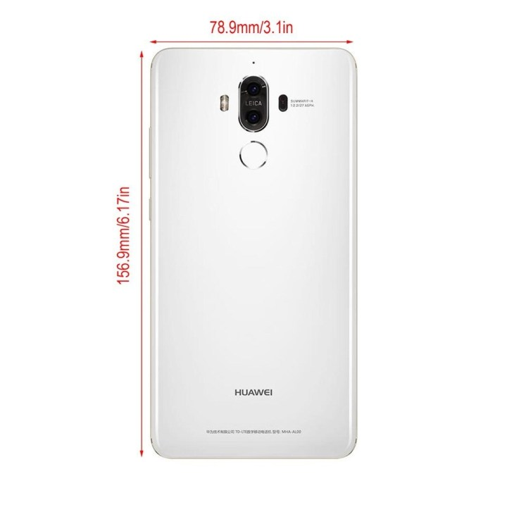 Huawei Huawei Mate 9 4G LTE Octa Core 5.9 Inch Android 7.0 Fingerprint Mobile Phone white price in Nigeria