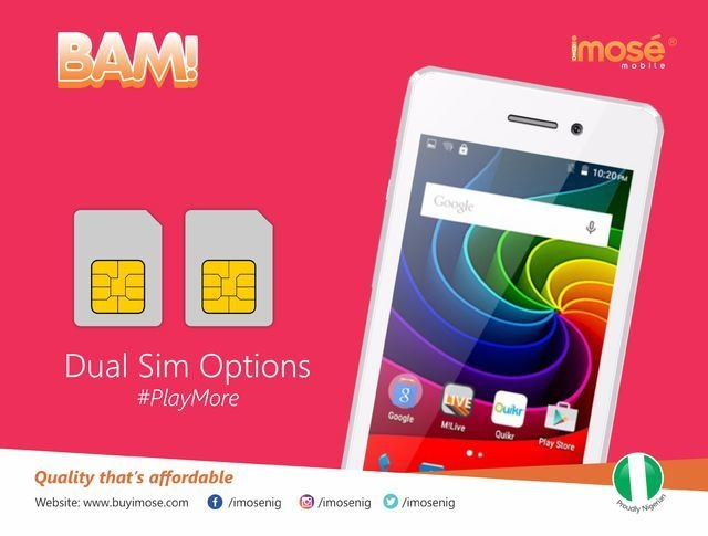 iMose BAM 4 inch (512MB, 4GB ROM) Android 6.0 3MP+1.3MP Smartphone   Gold + Free Leather Flip Case Cover price on jumia Nigeria via specspricereview.com