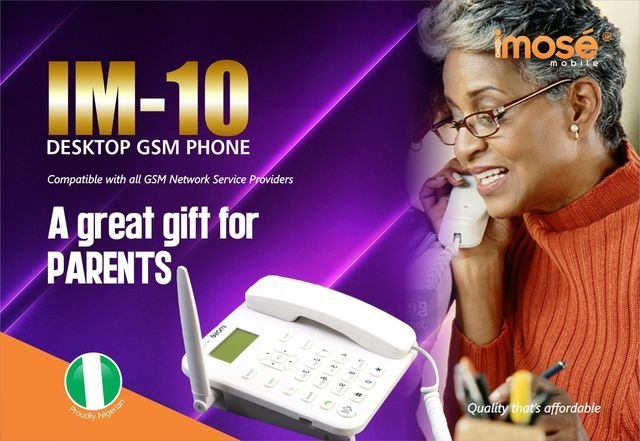Imose Desktop GSM Phone - Single sim - Pointek: Online Shopping for Phones,  Electronics, Gagets & Computers