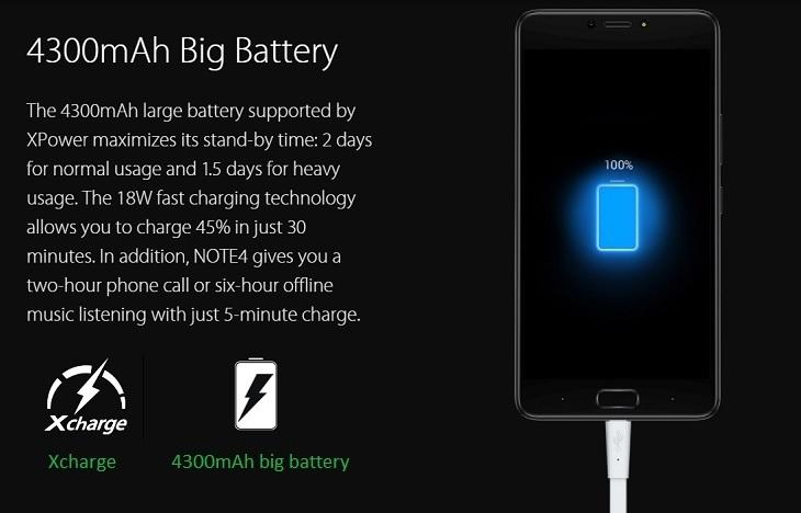 0e20aec28054210fa5f00a6eab6bb762 Infinix Infinix X572 Note 4   5.7   16GB   4G Mobile Phone   Milan Black