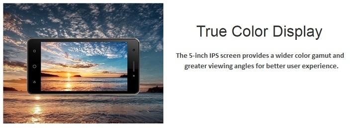 itel It1516 Plus 5 Inch (1GB, 8GB ROM) Android 5.1 Lollipop, 5MP + 2MP Smartphone + Free Flip Case Cover & OTG Adapter   Silver price in Nigeria