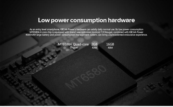 Leagoo KIICAA POWER 3G Smartphone MTK6580A Quad Core 1.3GHz 2GB RAM 16GB ROM GOLDEN price in Nigeria
