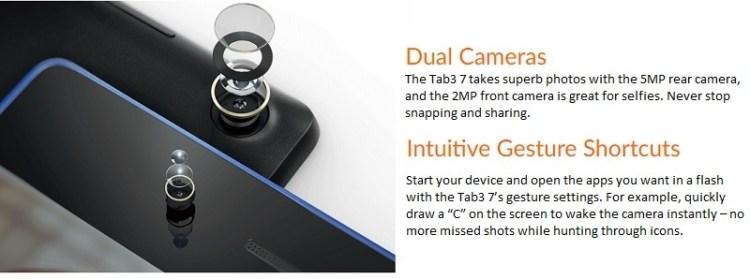 Lenovo Tab 7 Essential 7 Quad Core 1.1GHz (3G,1GB,16GB ROM) Micro SIM Android 7 Nougat Tablet   Black price on jumia Nigeria via specspricereview.com