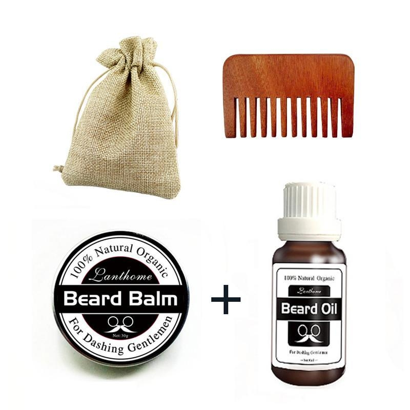 32d1a0872c65985f882daaa44d8f8a6d Louis Will Beard Grooming Care Kit, Natural Beard Balm, Natural Moustache Wax, Natural Beard Oil With Comb For Mens Beard Mustache Promotes Beard Growth And Shine