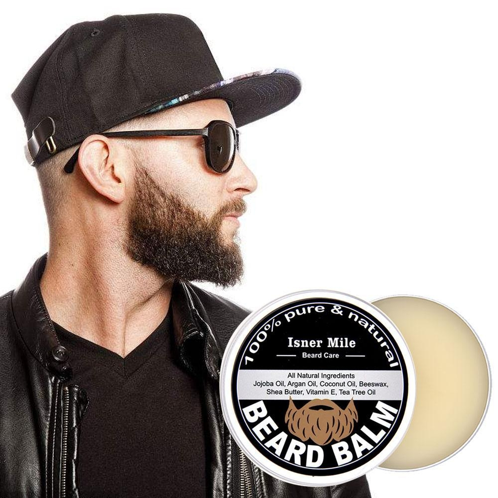 6addf4079a25a98b16084e6fc132dcc9 Louis Will Argan Oil Beard Balm For Beard Moisturizer Conditioner, Pawaca 100% Pure Natural Organic Beard Balm For Men With Moisture Rich Ingredients Treat Skin And Hair Follicles   Fragrance Free, 2Oz