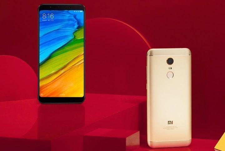 713c462b359884be213ed8650da5b20e Mi Smart Phone Redmi 5 Plus (Gold) International Version 3G 32GB Gold