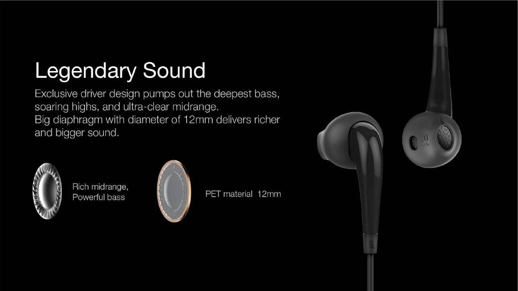 b2543b260190b035d4bdd80faea8dd39 Oraimo Halo OEP E21 In ear, Bass, HD Sound Ear Phones With Remote & Mic