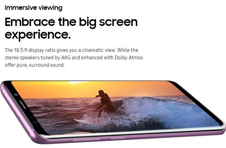 95424c3a9e6cb4c4a456c47088fbb6b7 Samsung Galaxy S9 5.8 Inch QHD (64GB, 4RAM) Android 8.0 Oreo, 12MP + 8MP Dual SIM 4G Smartphone   Midnight Black