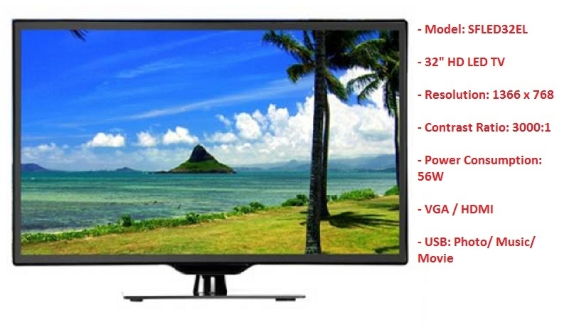 scanfrost 32-Inch SFLED32EL HD LED TV on jumia