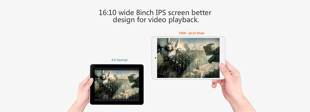 a9f644a80ffba7627ab5847bbf7d43fe TECLAST P80h   8 Tablet Android 5.1 1GB/8GB OTG HDMI UK   White