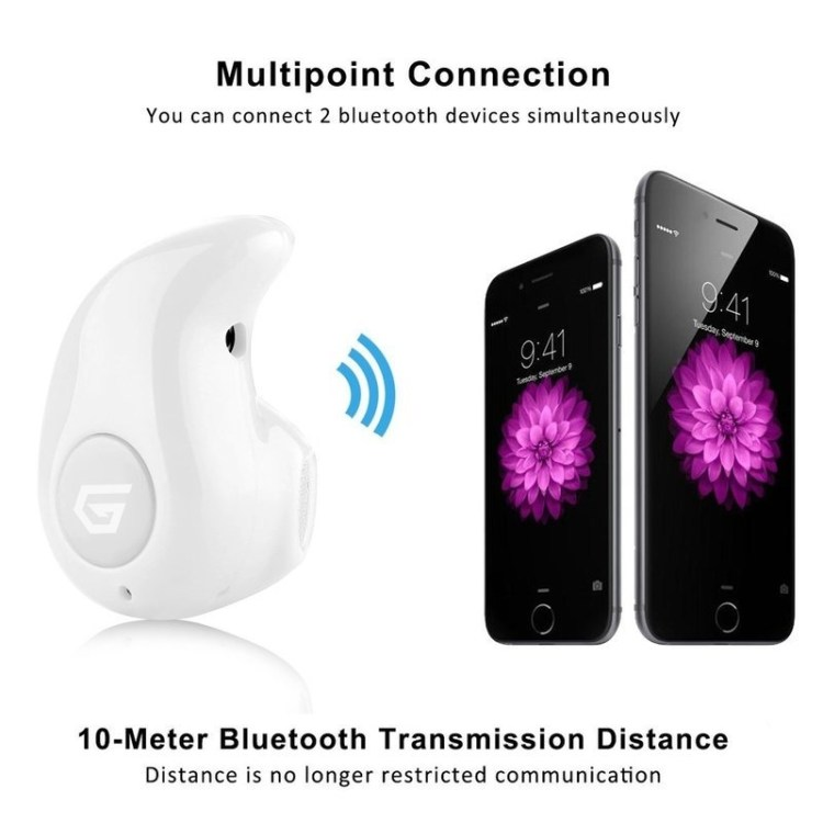 Universal Bluetooth 4.0 Wireless Headphone Headset Mini Invisible Earpiece Ultra small S530 Earphone   White price on jumia Nigeria via specspricereview.com