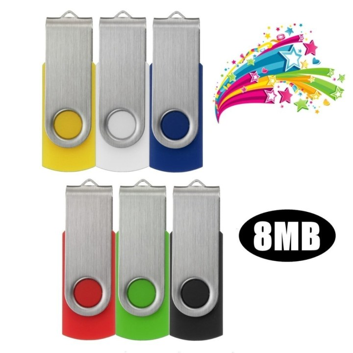 Universal Swivel 8MB 8M USB2.0 Flash Memory Drive Storage Thumb Stick Pen Gift Folding Green price in Nigeria