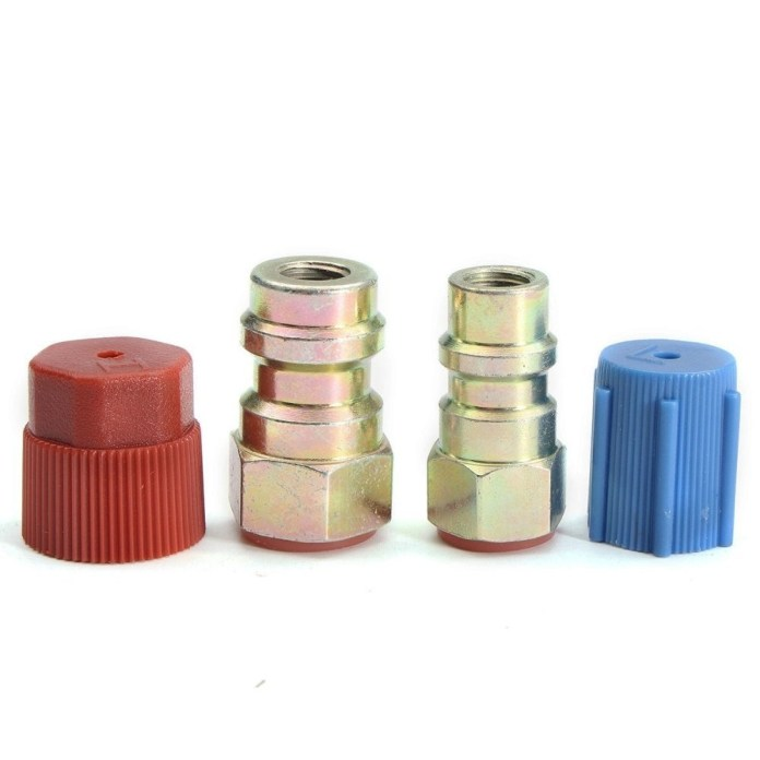 Universal AC FITTING PORT ADAPTERS,RETROFIT R12 To ACCEPT R134 3/16(HIGH) & 1/4(LOW) price in nigeria