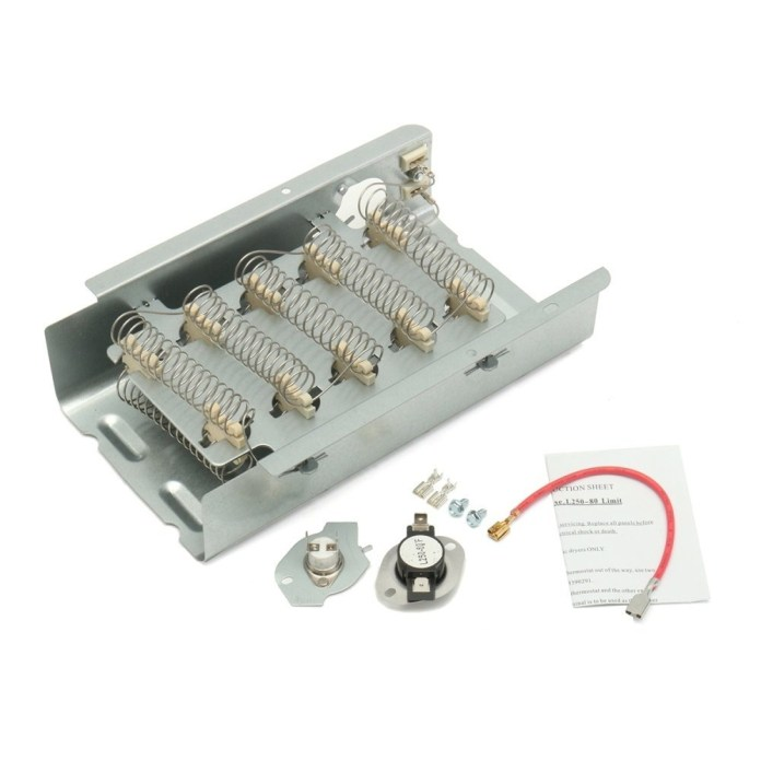 Universal Dryer Heating Element Thermostat Kit For Whirlpool Kenmore Maytag Estate price in nigeria