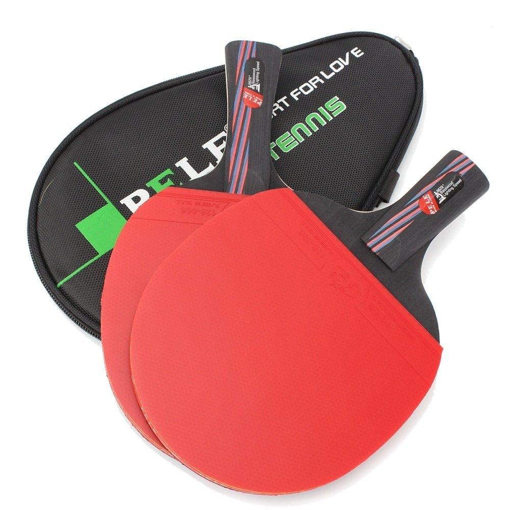 Universal Carbon Fiber Table Tennis Racket Ping Pong Paddle Bat Long Short Handle With Bag Horizonal Grip price in Nigeria