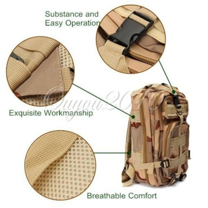Universal Outdoor Military Rucksacks Tactical Backpack Sports Camping Trekking Hiking Bag Style10 price in Nigeria