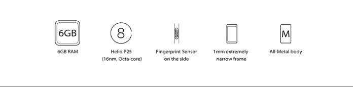 Vernee Mars Pro   5.5 4G Smartphone   Android 7.0 6GB/64GB   Fingerprint G Sensor EU   Black price in nigeria