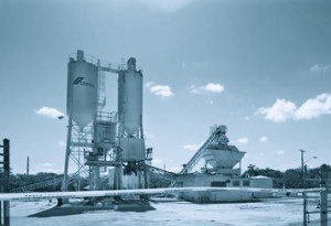 Cement plant towers
