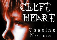 Official Back Cover Blurb for Cleft Heart: Chasing Normal