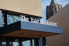 Picture of Yale Bookstore sign over store door