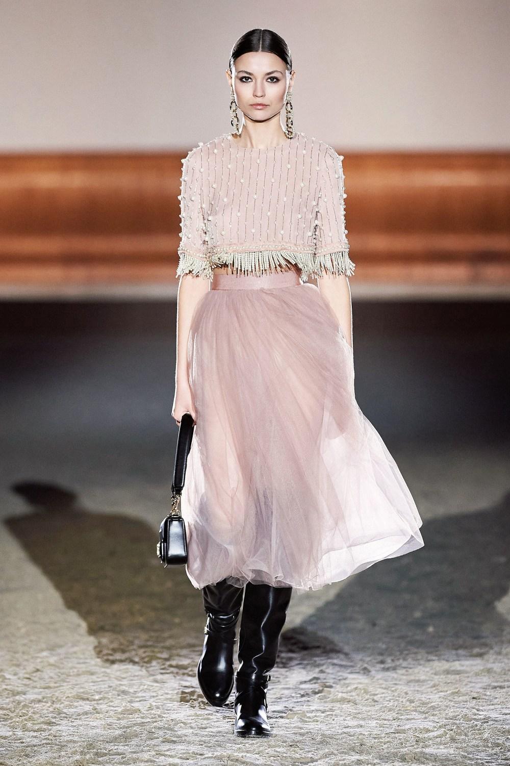 Elisabetta Franchi: Elisabetta Franchi Fall Winter 2021-22 Fashion Show Photo #25