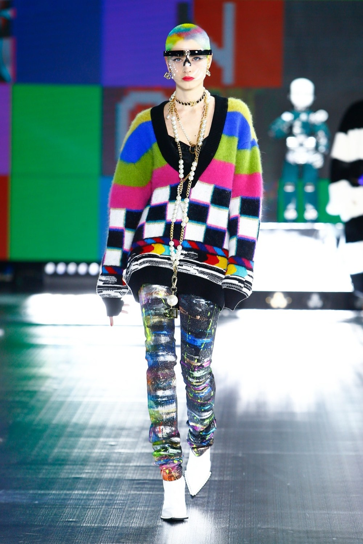 Dolce & Gabbana: Dolce & Gabbana Fall Winter 2021-22 Fashion Show Photo #14