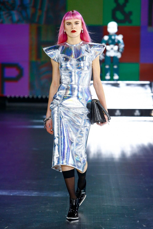 Dolce & Gabbana: Dolce & Gabbana Fall Winter 2021-22 Fashion Show Photo #32