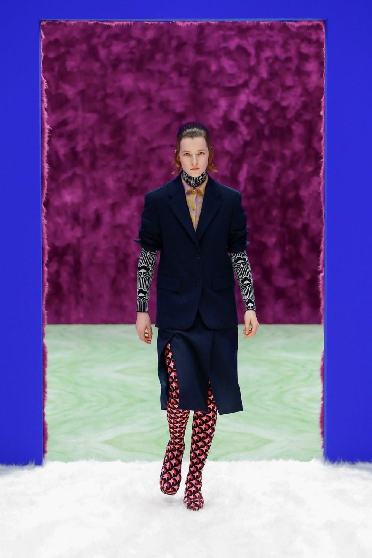 Prada: Prada Fall Winter 2021-22 Fashion Show Photo #2