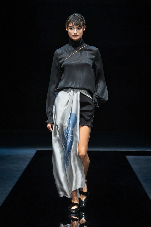Armani: Giorgio Armani Fall Winter 2021-22 Fashion Show Photo #37
