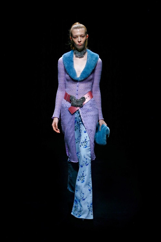Blumarine: Blumarine Fall Winter 2021-22 Fashion Show Photo #8