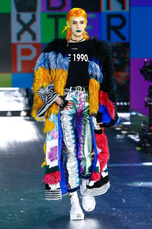 Dolce & Gabbana: Dolce & Gabbana Fall Winter 2021-22 Fashion Show Photo #6