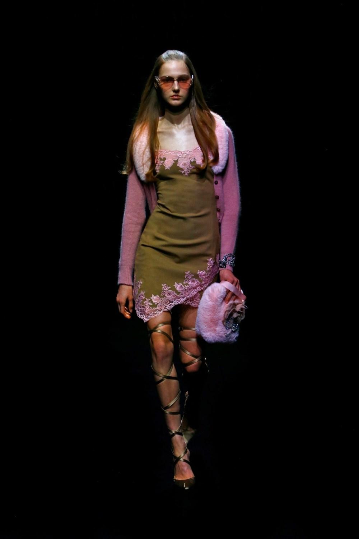 Blumarine: Blumarine Fall Winter 2021-22 Fashion Show Photo #34