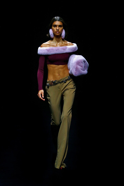 Blumarine: Blumarine Fall Winter 2021-22 Fashion Show Photo #38