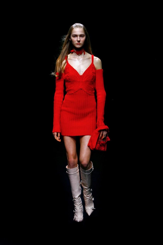 Blumarine: Blumarine Fall Winter 2021-22 Fashion Show Photo #43