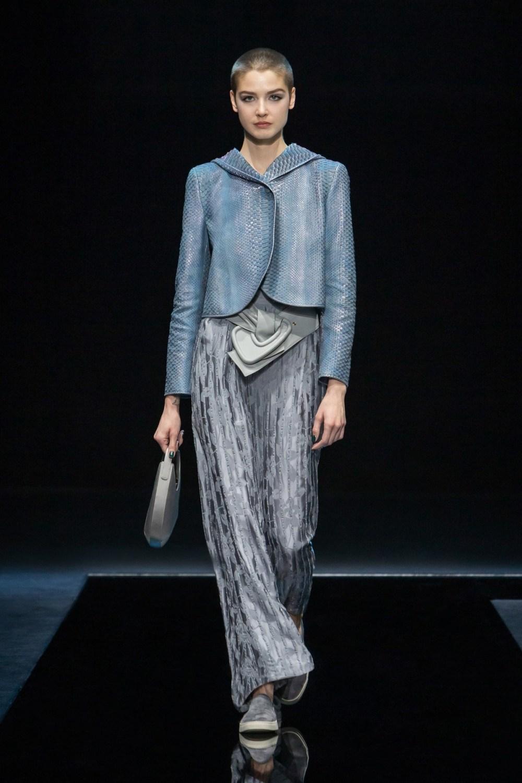 Armani: Giorgio Armani Fall Winter 2021-22 Fashion Show Photo #27