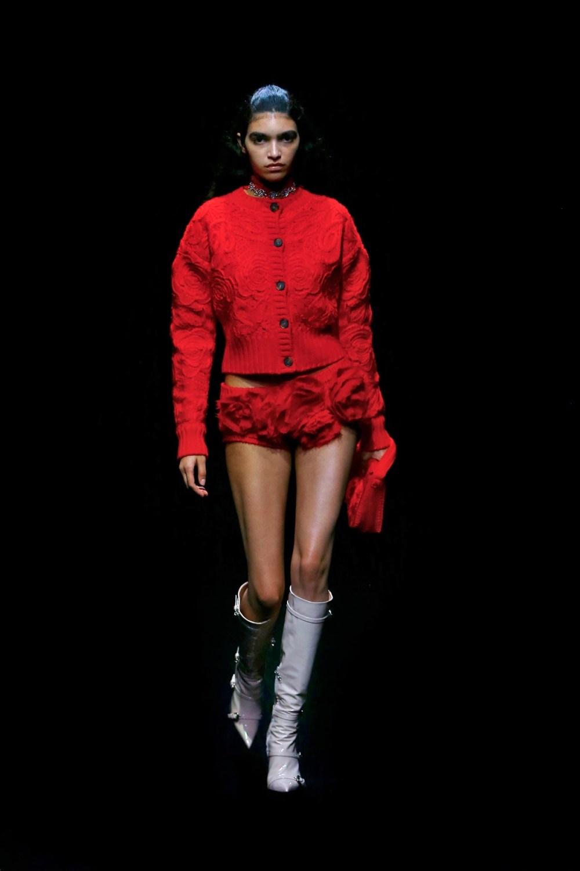 Blumarine: Blumarine Fall Winter 2021-22 Fashion Show Photo #41