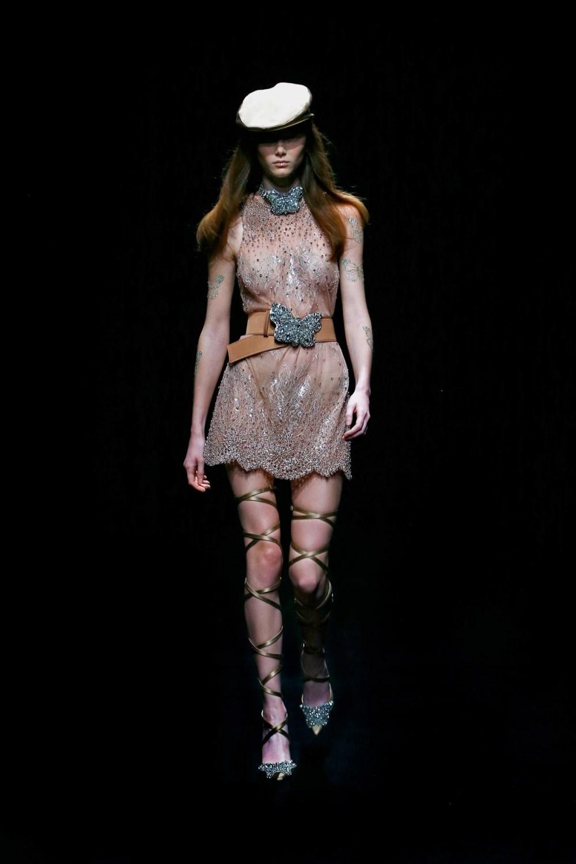 Blumarine: Blumarine Fall Winter 2021-22 Fashion Show Photo #15