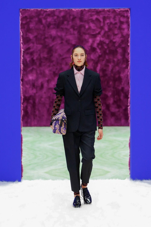 Prada: Prada Fall Winter 2021-22 Fashion Show Photo #8
