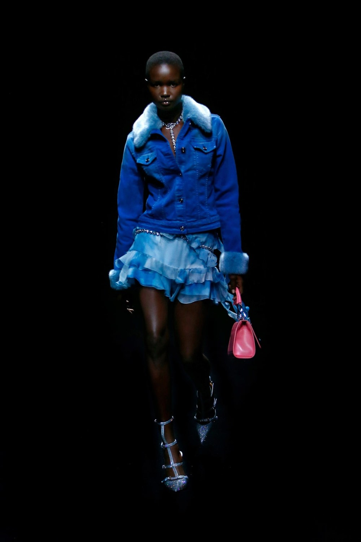 Blumarine: Blumarine Fall Winter 2021-22 Fashion Show Photo #19