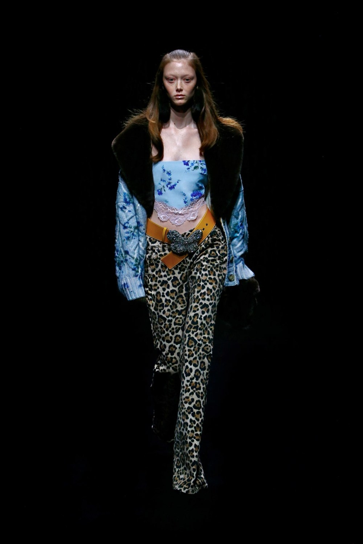 Blumarine: Blumarine Fall Winter 2021-22 Fashion Show Photo #1